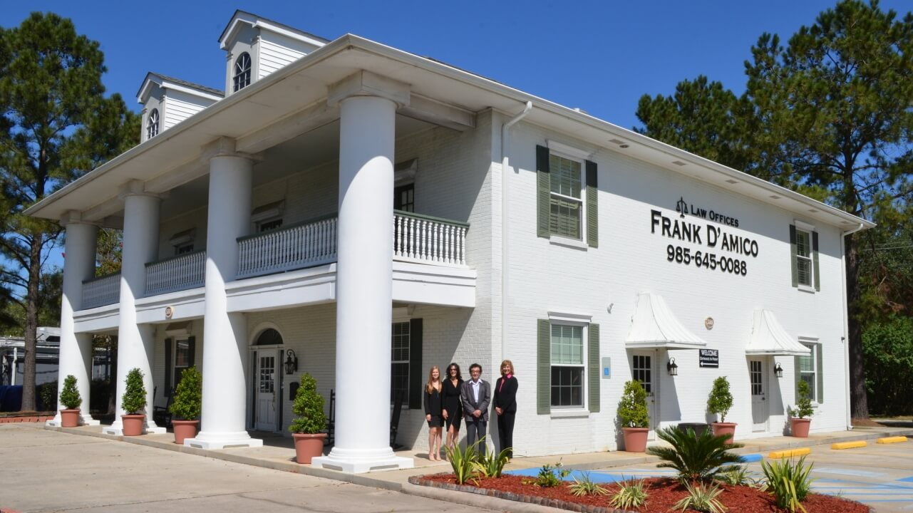 Office of personal injury attorney Frank J. D'Amico Sr.
